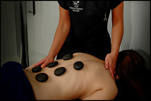 Receive a free back massage when you register